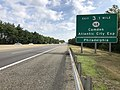 2018-10-02 10 40 36 View north along New Jersey State Route 700 (New Jersey Turnpike) just south of Exit 3 (New Jersey State Route 168, Camden, Atlantic City Expressway, Philadelphia) in Bellmawr, Camden County, New Jersey.jpg