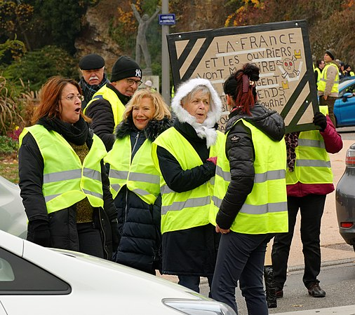 mouvement des gilets jaunes belfort 17 nov 2018 wikimedia commons. Black Bedroom Furniture Sets. Home Design Ideas