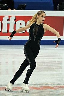 Diāna Ņikitina Latvian figure skater