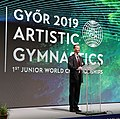2019-06-27 1st FIG Artistic Gymnastics JWCH Opening ceremony (Martin Rulsch) 20.jpg