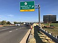2019-09-20 16 54 11 View east along Virginia State Route 7 (Harry Byrd Highway) at the exit for Virginia State Route 607 (Loudoun County Parkway) in Ashburn, Loudoun County, Virginia.jpg