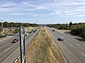 2019-09-27 14 35 27 View east along Virginia State Route 7 (Harry Byrd Highway) from the overpass for Virginia State Route 901 (Claiborne Parkway) and Virginia State Route 2400 (Lansdowne Boulevard) in Loudoun County, Virginia.jpg