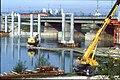 207R10270492 Bereich Nordbahnbrücke, Bau der Trasse für die U Bahn Linie U6, Nordbahnbrücke Ostseite.jpg