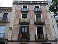 256 Casa Galceran, pl. Cols 14-15 (Vilanova i la Geltrú), detall de la façana.jpg