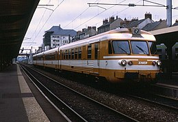 ETG en gare de Nevers en 1989