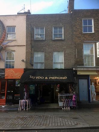 Richard Ryan (biographer) - 277 Camden High Street in 2013. Richard Ryan lived here with his family from 1825 to early 1830.