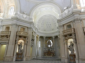 Palace of Venaria - Interior of the chapel of S. Uberto