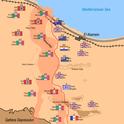 Ausgangslage der zweiten Schlacht von El Alamein