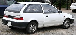 2nd generation Suzuki Cultus rear.jpg
