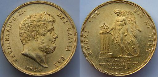 30 Ducati d'oro (Regno delle Due Sicilie, 1850)