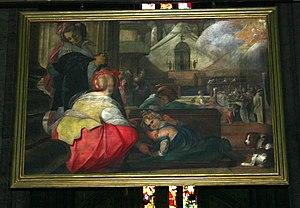 Quadroni of St. Charles - Image: 3230 Milano, Duomo Il Cerano Miracolo di Giovanna Marone (1610) Foto Giovanni Dall'Orto, 6 Dec 2007