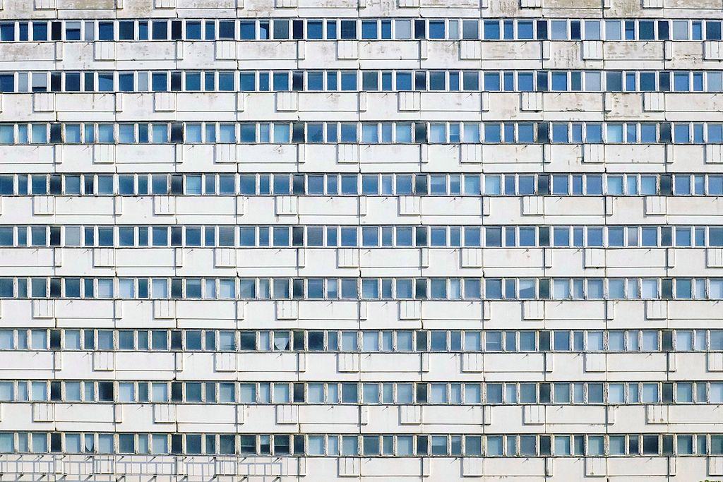 Fenêtres de la Karl Marx Allee à Berlin - Photo de Spyrosdrakopoulos