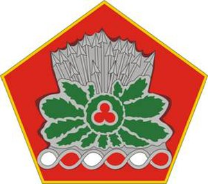 371st Sustainment Brigade (United States) - Image: 371Sustain Bde DUI