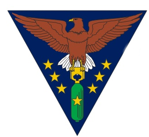 380th Space Control Squadron - World War II squadron emblem (1945)