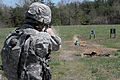 387th MP Company, soldier fires on M9 range 150412-Z-OO000-006.jpg