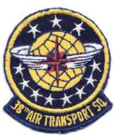 36th transportation squadron air force patch