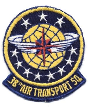38th Air Transport Squadron - Image: 38th Air Transport Squadron MATS Emblem