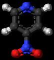4-Nitropyridine molecule ball.png