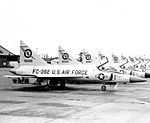 40th Fighter-Interceptor Squadron F-102 Delta Daggers.jpg