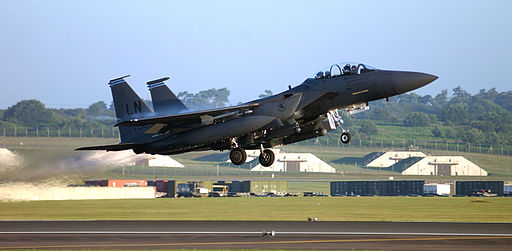 494th Fighter Squadron F-15E Strike Eagle