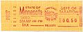 50c proof Minnesota meter revenue stamp for deed stamp tax. Steele County 2 June 1988.jpg