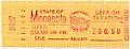 50c proof Minnesota meter revenue stamp for deed stamp tax. Steele County 2 June 1988.jpg