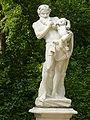 5178.Silen - Silenus(Mischwesen aus Mensch u. Pferd)mit Bacchusknaben-Dresdner Rondell Sanssouci Heilfort.JPG