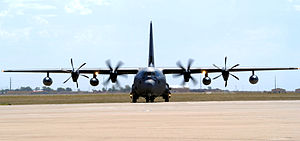 522d Special Operations Squadron - A new MC-130J Commando II taxis on the flightline at Cannon Air Force Base, N.M., 29 September 2011