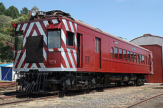 Daylesford Spa Country Railway - Image: 63rm daylesford 3