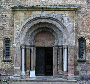 Schleswig Cathedral - The Petri Portal ca. 1180