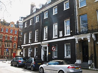 Ewan Christian - Ewan Christian first set up his own architectural practice in Bloomsbury Square in 1842. He moved across to this corner of the square in 1847 where Isaac D'Israeli had once lived.