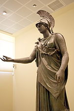 7362 - Piraeus Arch. Museum, Athens - Athena - Photo by Giovanni Dall'Orto, Nov 14 2009.jpg
