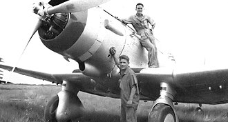 Panama during World War II - Image: 74th Attack Squadron with Northrup A 17 1939