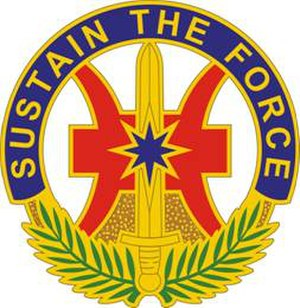 8th Theater Sustainment Command - Image: 8Sustain Cmd DUI