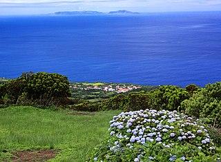 Graciosa island of Azores, Portugal