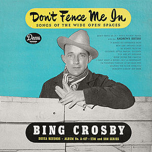 Don't Fence Me In (Decca album) - Image: A 559 Don't Fence Me In