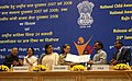 A. Raja, the Minister of State (Independent Charge) for Women & Child Development, Smt. Renuka Chowdhury and the Chairperson, UPA, Smt. Sonia Gandhi at the releasing of the postal stamp to commemorate National Girl Child Day.jpg