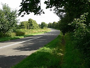 A60 road - Image: A60 Loughborough Road near Rempstone geograph.org.uk 905854