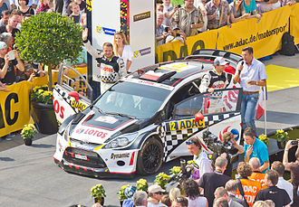 Lotos Team WRC - Lotos Team WRC: Michał Kościuszko and Maciej Szczepaniak in Cologne, August 2013