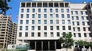 AFL–CIO - AFL–CIO headquarters in Washington, D.C.