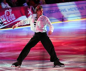 Andrei Griazev - Griazev performs in a March 2007 ice show in Mytischi, Russia