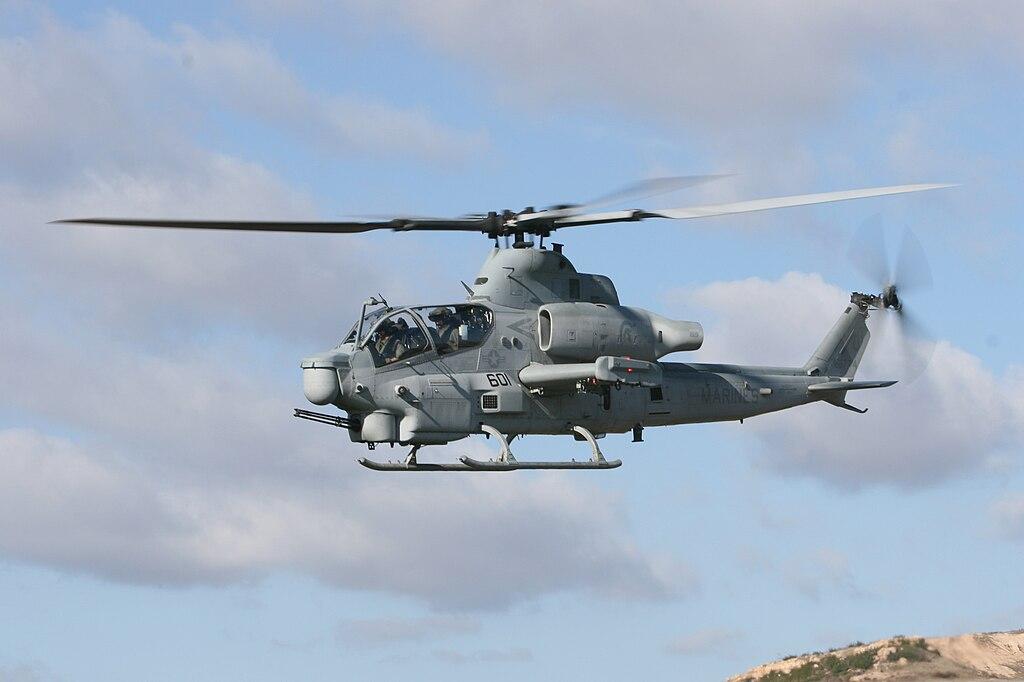 AH-1Z HMLA-303 in flight 2008.jpg