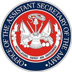 Assistant Secretary of the Army (Installations, Energy and Environment) - Seal of the Office of the Assistant Secretary of the Army (Installations, Energy and Environment)