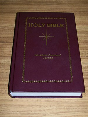 American Standard Version - Image: ASV Star Bible