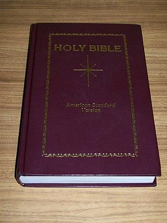 American Standard Version - Star Bible's facsimile reprint of the American Standard Version
