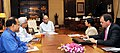 A British delegation led by the Secretary of State for International Development, United Kingdom, Ms. Priti Patel calls on the Union Minister for Finance and Corporate Affairs, Shri Arun Jaitley, in New Delhi.jpg