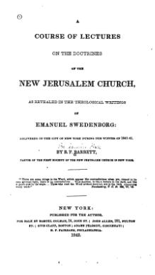 A Course of Lectures on the Doctrines of the New Jerusalem Church.djvu