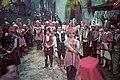 A Gül Baba című film (rendezte- Nádasdy Kálmán) forgatása. Középen Jávor Pál (Gábor diák) és Makláry Zoltán (Mujkó cigány). Fortepan 93740.jpg