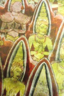 Kandyan period frescoes