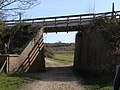 A new bridge on the disused railway line, New Forest - geograph.org.uk - 375103.jpg